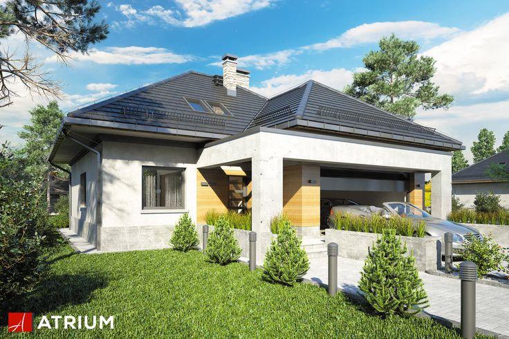 Projekt Fado V - elewacja domu