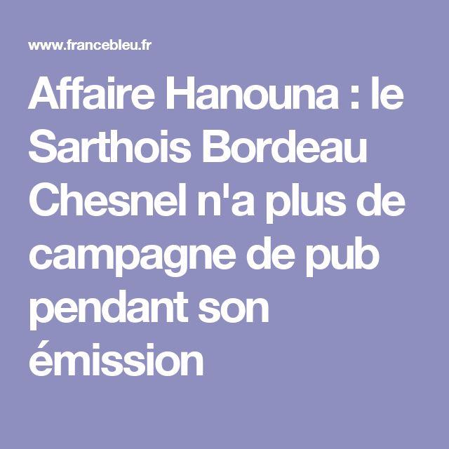 Affaire Hanouna : le Sarthois Bordeau Chesnel n'a plus de campagne de pub pendant son émission