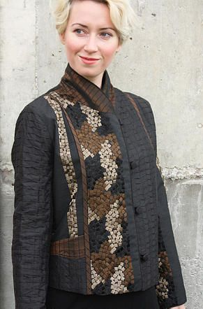 Mary Lynn O'Shea: Designer | Weaver | Warren Light Weight Jacket