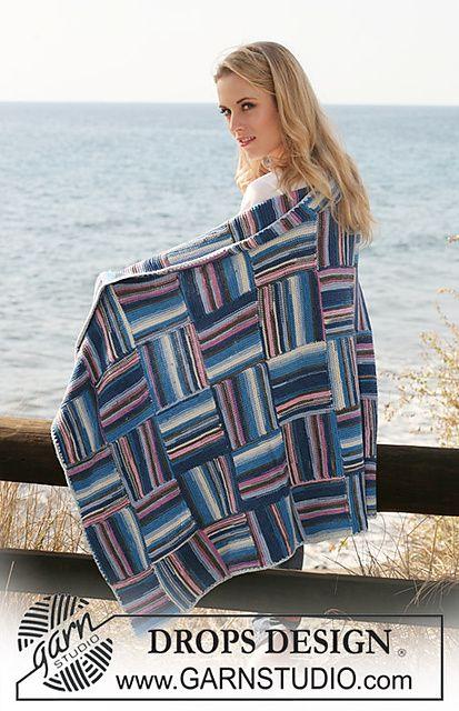 Garter Stitch Entrelac Blanket