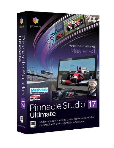 Save 40% on Pinnacle Studio 17 Ultimate. Visit http://dealtodeals.com/save-pinnacle-studio-ultimate/d24253/computer-accessories/c28/