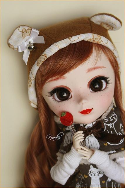 Naoko.Pullip Custom by Manoliyo~, via Flickr
