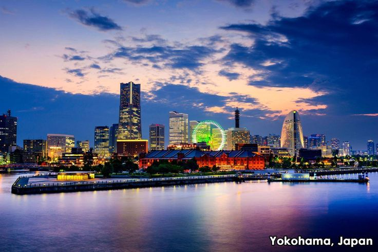 Japan's second largest city, Yokohama sits on Tokyo Bay and is a commerce center of the Greater Tokyo Area. A major port city, it boasts a large Chinatown with hundreds of shops and Chinese restaurants. Visitors can't miss Yokohama's Landmark Tower, which hovers over the city at 972 feet. Other sights include the Skating Rink of Lights, a visually spectacular, multi-colored attraction held from early December to mid-February at the Red Brick Warehouse. What cities in Japan have you visited?
