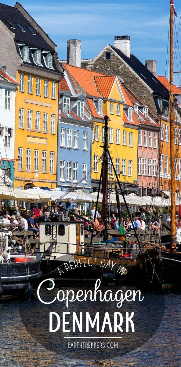 One Perfect Day in Copenhagen, Denmark. This is a detailed, one day itinerary with restaurant and hotel recommendations, the best things to do, and money saving tips. If you have limited time in Copenhagen, this is a great resource to have. Earth Trekkers | Copenhagen | Denmark | One Perfect Day