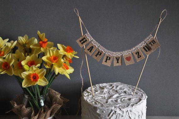 Happy 20 Th Birthday Anniversary Cake by inspiredcompany4u