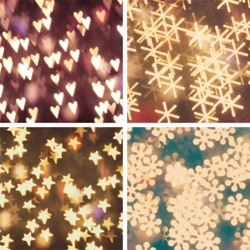 How to make your own Bokeh.  This site tell you how to get those big, beautiful, blurry lights, when taking pictures.  It's actually pretty ingenious.  I never would have thought of this (probably because I'm not very good at taking pictures)