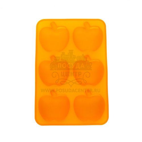 Форма для выпечки Яблоки Marmiton, оранжевый, силикон