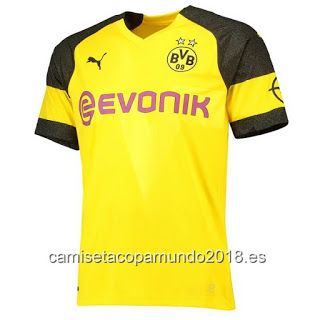 d1582eaaef4cc Camiseta copa mundo 2018 camisetas de fútbol baratas  Camiseta Dortmund 2018 -19 camisetas de fútbol bara.