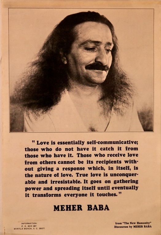 Love, Meher Baba