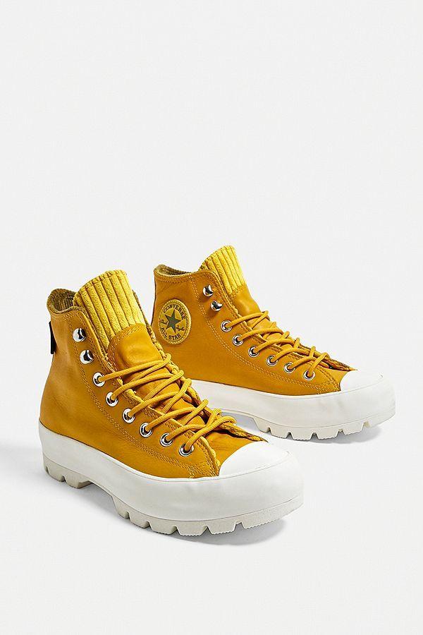 converse all star montante jaune