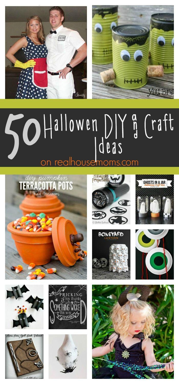50 Halloween DIY & Craft Ideas on Real Housemoms