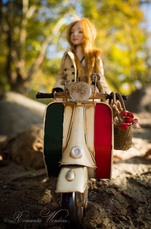 Handmade polymer clay BJD doll ''Bebe'' by Romantic Wonders