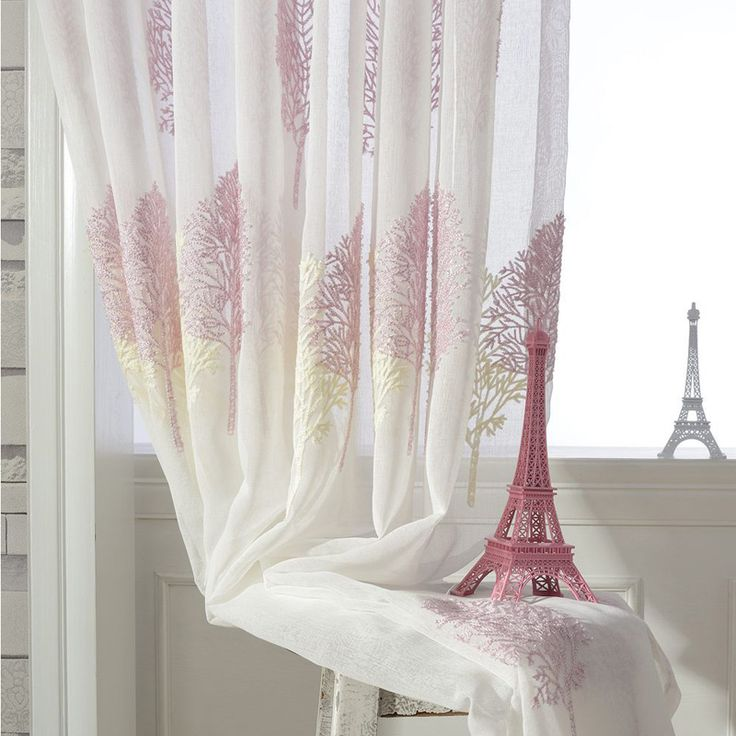 75 best Window Treatments images on Pinterest | Sheet curtains ...