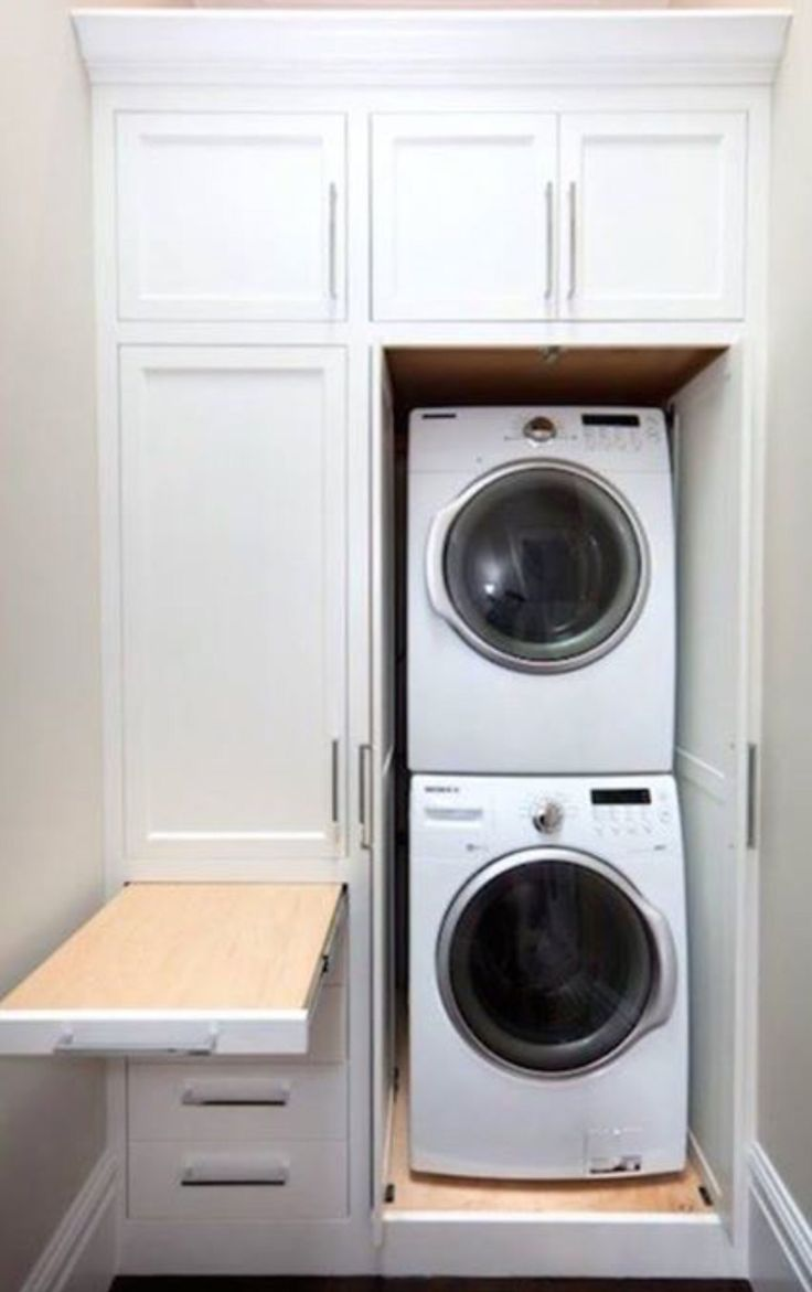Over washer shelves the best quality home design for Laundry in bathroom ideas