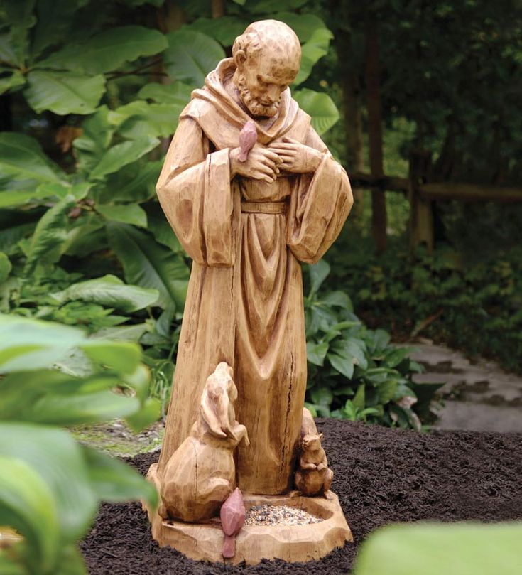 Garden Statue St Francis: 1000+ Images About St. Francis On Pinterest