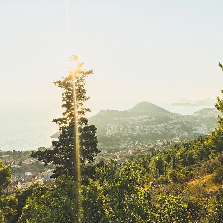 #tb to climbing Mount Srd in Dubrovnik, Croatia. 🌲⚡️