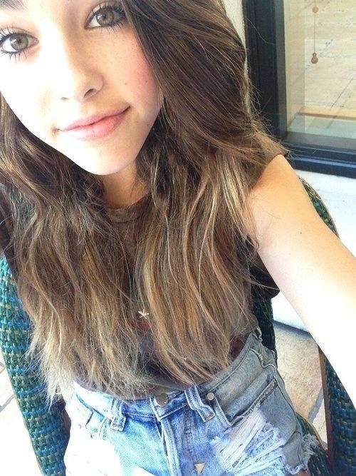 Girls selfies Young