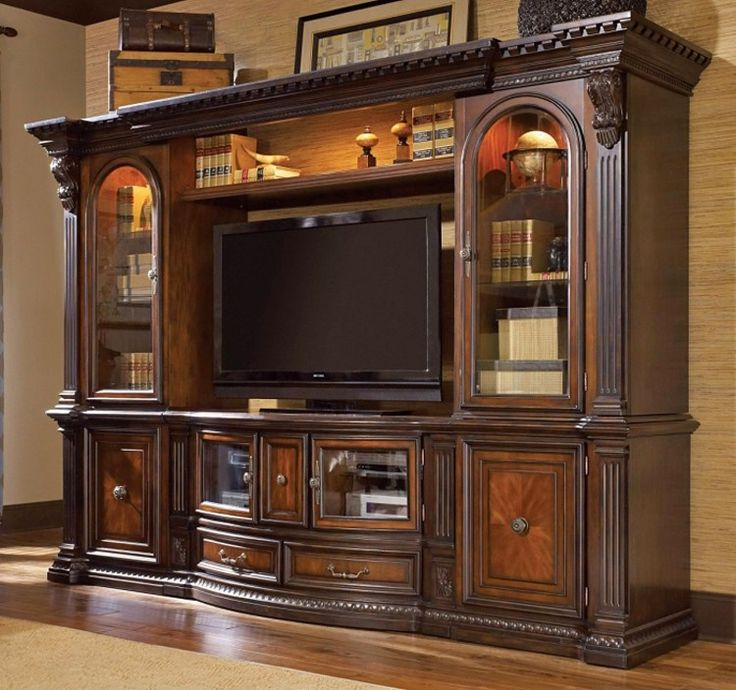 MELROSE ENTERTAINMENT CENTER TV MEDIA WALL UNIT - Google Search