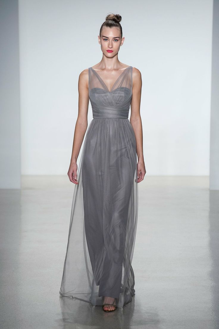 View all the catwalk photos of the Amsale Bridesmaids bridal spring 2014 showing at New York fashion week. Description from pinterest.com. I searched for this on bing.com/images
