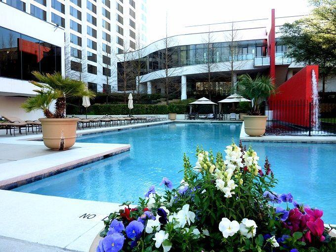 アメリカ・テキサス州「オムニ・ヒューストンホテル」にて。Omni Houston Hotel in Texas, USA.