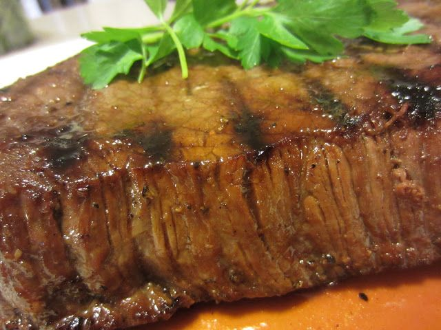 Hard Rock Café Killer London Broil - marinade: dark brown su..