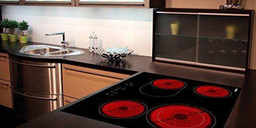 Viesta C4Z Plaque de cuisson vitroceramique, Table Vitrocéramique 4 feux: Plaque de cuisson avec 4 foyers autonomes 9 positions de cuisson…
