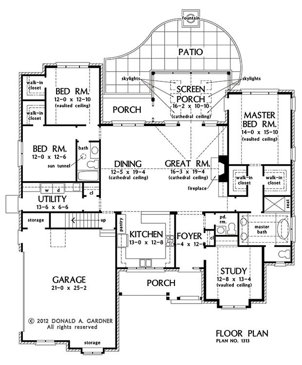 Plan of the week under 2500 sq ft the st regis 1313 for 2500 sq ft floor plans
