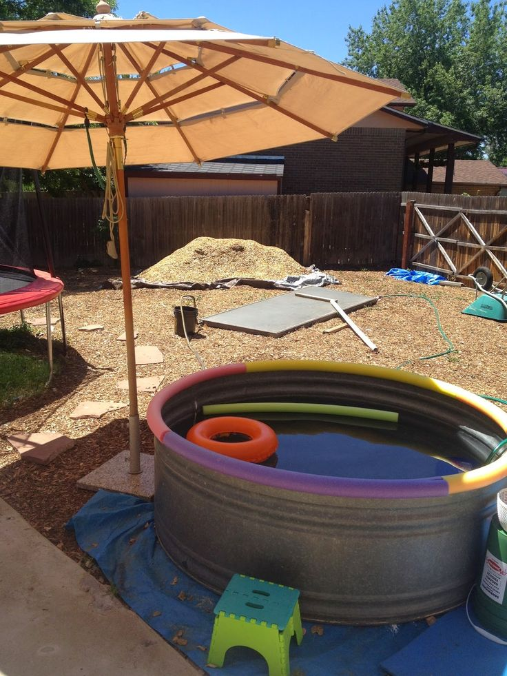 8 Best Stock Tank Pool Images On Pinterest Stock Tank Pool Hot Tubs And Kiddy Pool