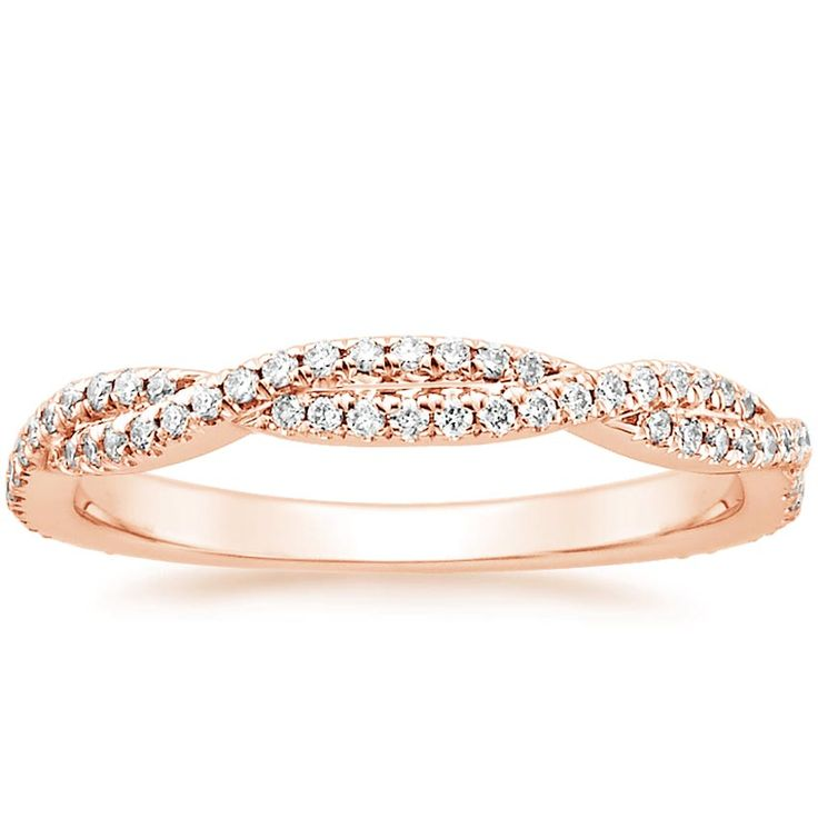 Stackable Engagement Ring With Wider Band