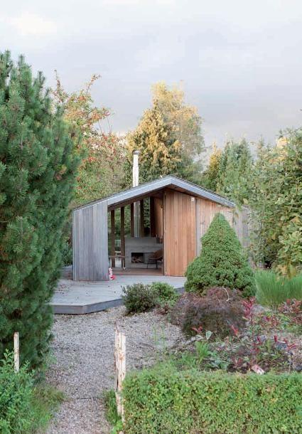 Populieren tuinhuis in Groningen - alle projecten - projecten - de Architect