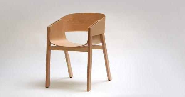 Stoel Merano van ontwerper Alex Gufler