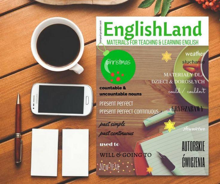 Z wielką dumą informuję, że nowe wydanie magazynu English Land już jest do Waszej dyspozycji. Jest mi niezmiernie miło, ponieważ miałam przyjemność współtworzyć to wydanie. Zbiór autorskich materia…
