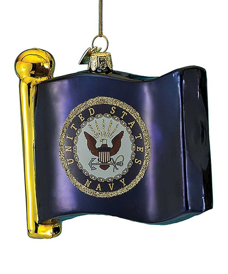 US Navy Flag Ornament by Kurt Adler #zulily #zulilyfinds