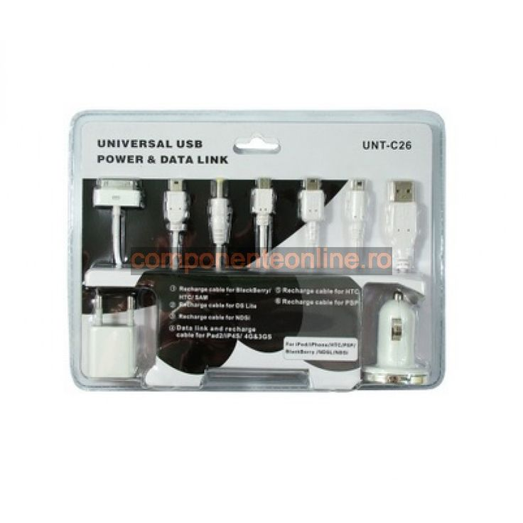 Kit incarcare, compatibil cu iPhone4, PSP, HTC, NDSi, DSLite - 113044