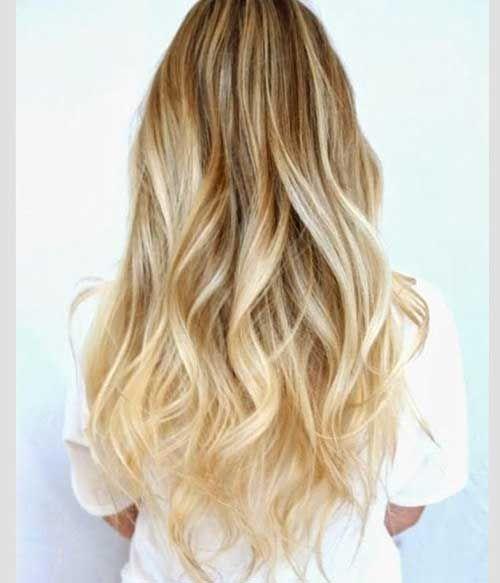 Los Mejores Peinados  27 cortes de pelo para el pelo rubio largo  Los Mejores Peinados