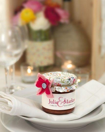 Hausgemachte Marmelade als Geschenk - weddingstyle.de