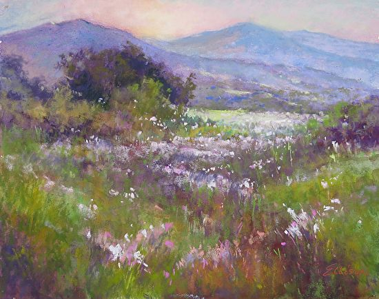 Janis Ellison just won an Honorable Mention for this pastel painting in the Pastel Journal 100 competition - only 100 paintings chosen from 1500 entered! Congratulations, Janis!