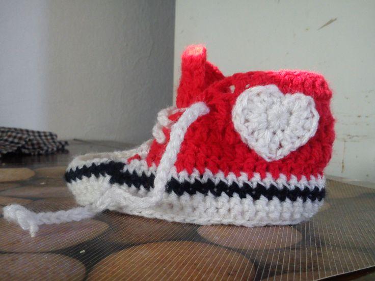 Mini convers al crochet