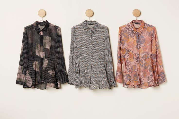 Spring Drumming | New Colection | Print | Blouse | Ruffles