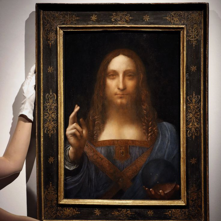 DaVinci painting of Christ sells for 450 million The sale at Christie's of Salvator Mundi, which dates from around 1500, easily tops previous records set in 2015 for a Picasso sold at auction and a Willem de Kooning sold privately.