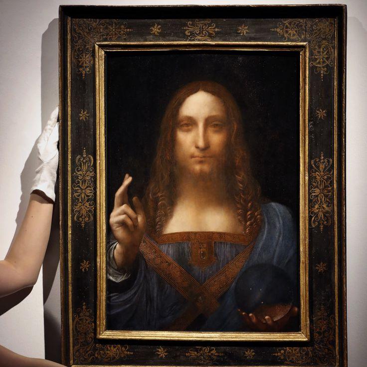 DaVinci Painting Of Christ Sells For 450 Million The Sale At Christies Salvator Mundi