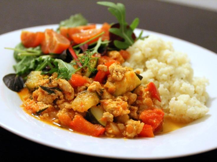 Kyllingegryde med krydderurter (lchf)