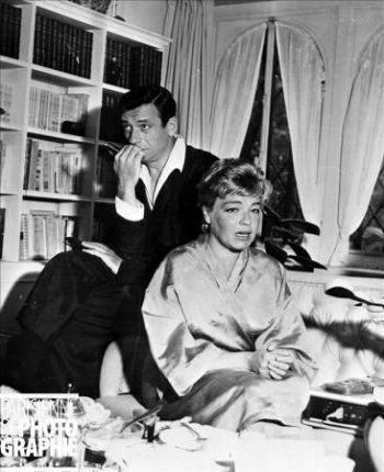Simone Signoret & Yves Montand
