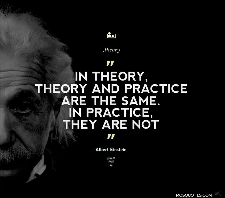 Practice Quotes: Albert Einstein Life Quotes In Theory Theory And Practice