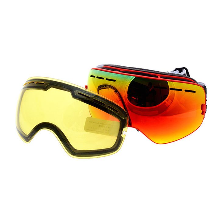 2016 New Brand Double Anti-fog Big Spherical Skiing Goggles Professional Ski Eyewear Unisex Snow Goggles with Night Vision Lens *** Clicking on the VISIT button will lead you to find similar product