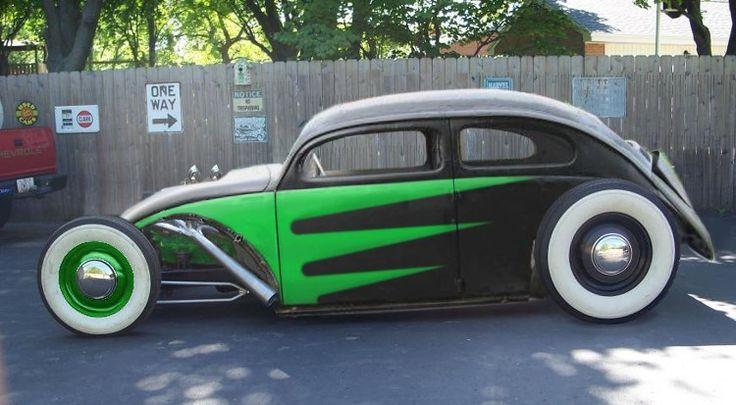 Front engine hot rod Beetle   VW Beetle   Pinterest ...