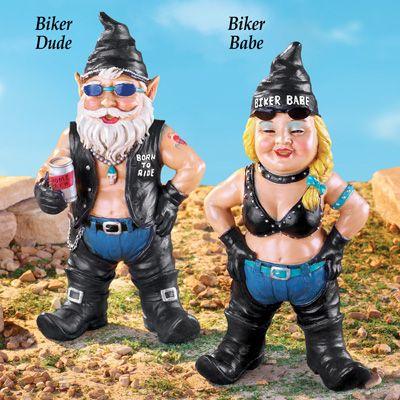 Biker Garden Gnomes                                                                                                                                                                                 More
