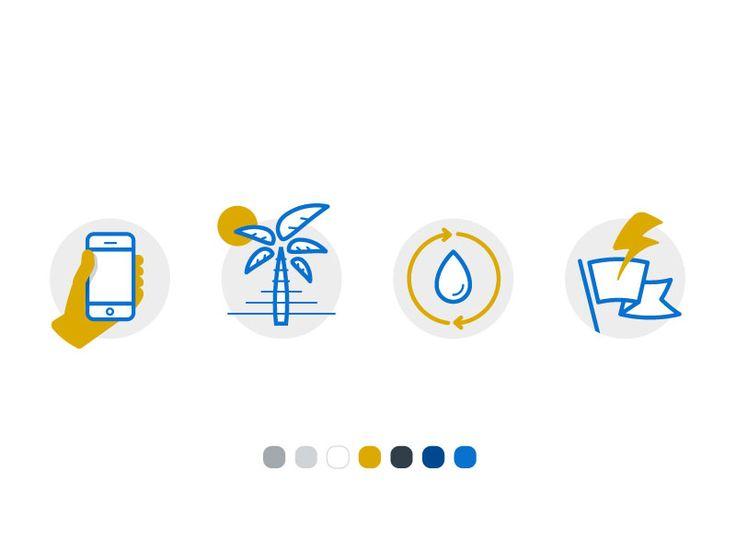 Duotone Spot Illustrations