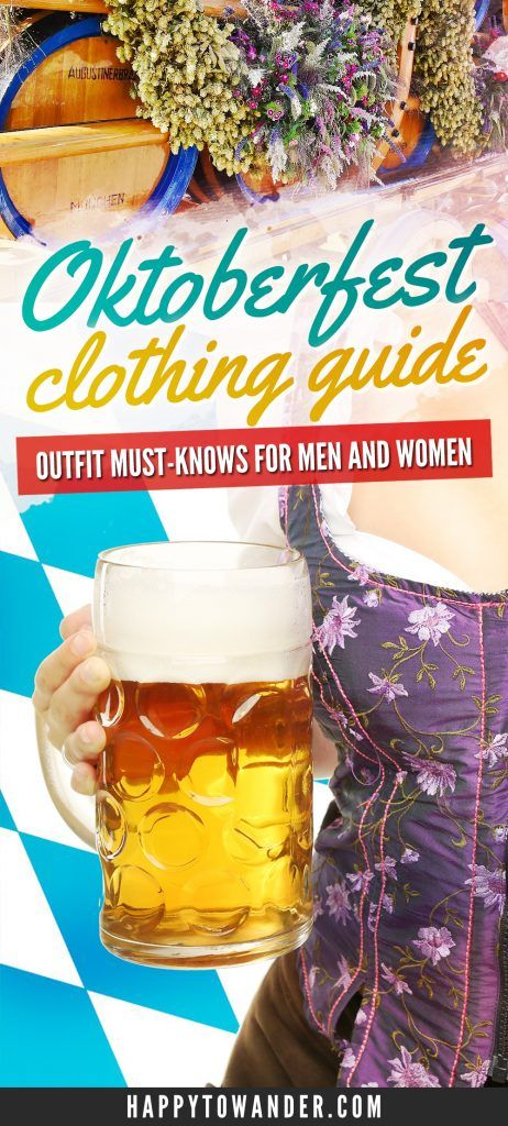 Oktoberfest Clothing Guide: What to Wear at Oktoberfest for Men and Women (And What You Shouldn't)