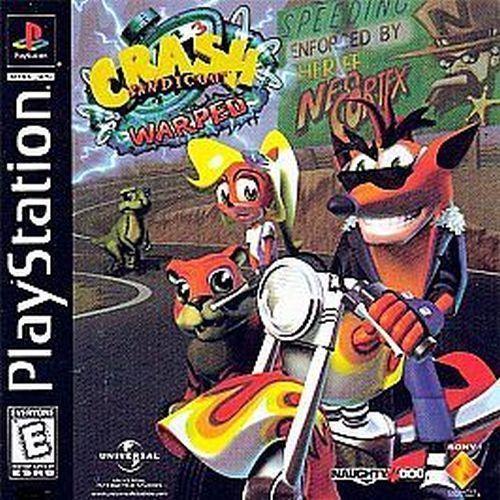 Crash Bandicoot: Warped (Sony PlayStation 1, PS 1, 1998) Disc Only #psx #ps1 #playstation #psn #ps3 #crashbandicoot  #retrogames #retrogamers #ebaysdeals #fatherday #videogames #thememories